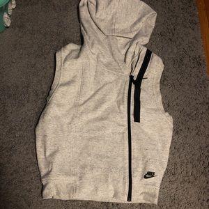 Nike Large women's vest hoodie